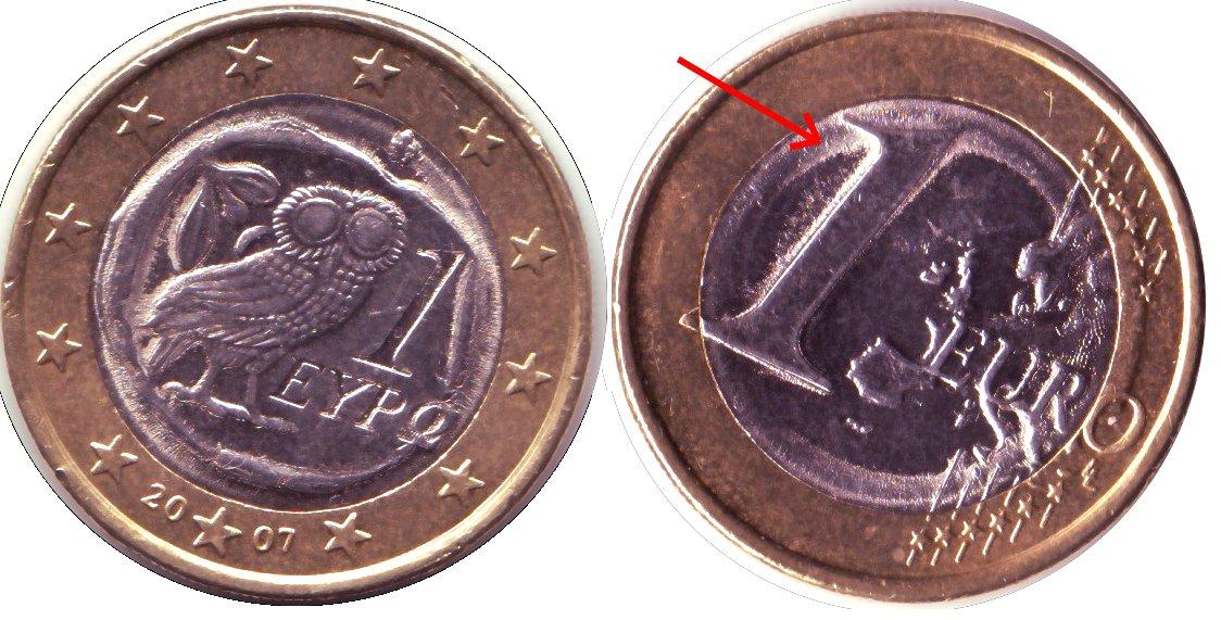 1_Euro_Grece_2007_Faute