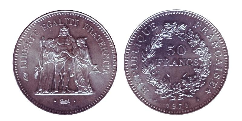 50 francs 1974