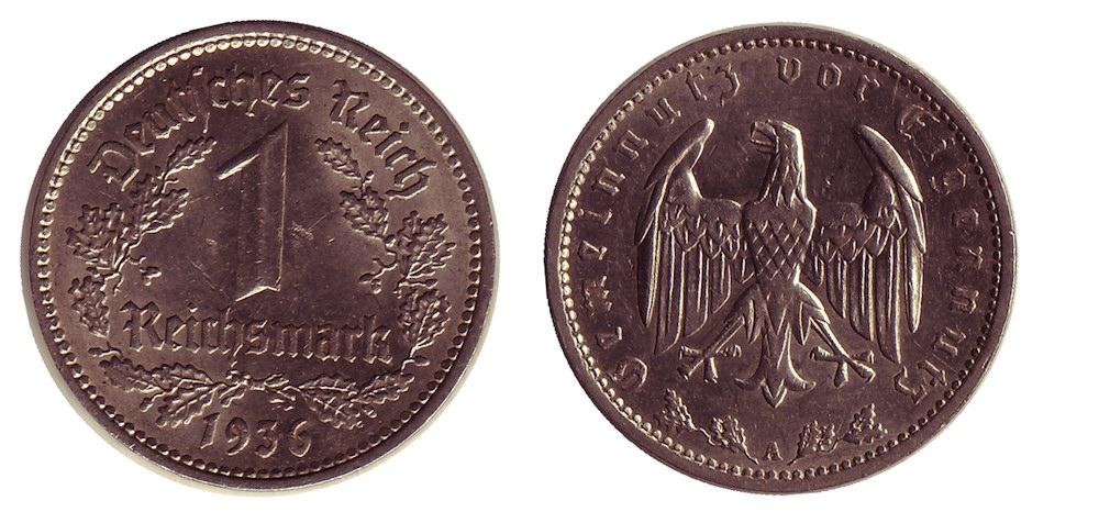Alemagne_1_Reichsmark_1936A