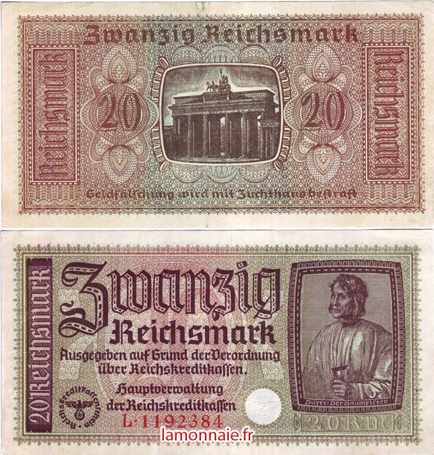 Allemagne_20_Reichsmark_1940
