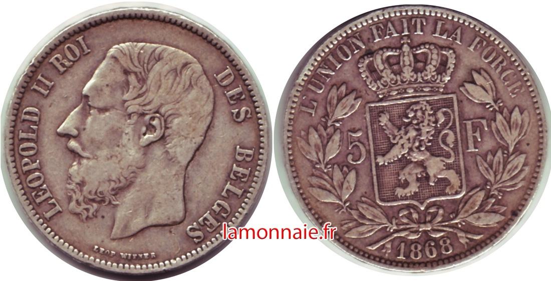 5 Francs Leopold