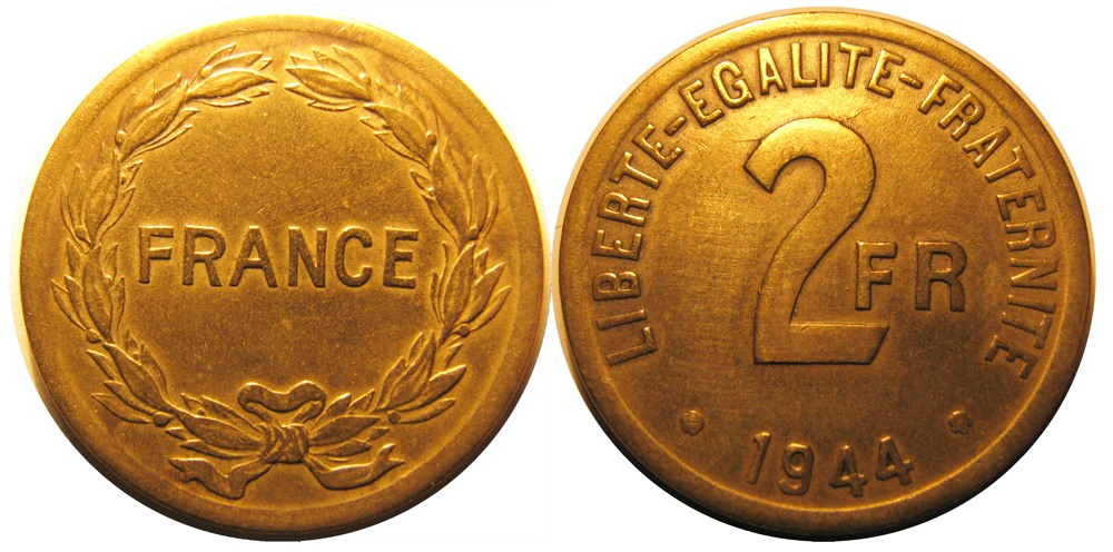 France_2francs_debarquement_1944